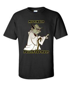 Yoda Pull My Finger TShirt
