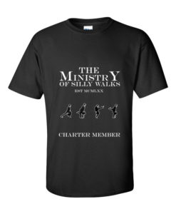 Ministry of Silly Walks TShirt