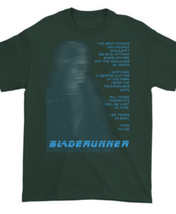 BladeRunner Tears In The Rain TShirt