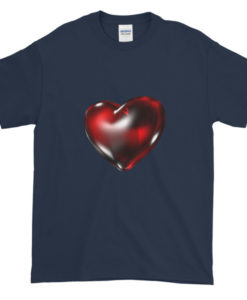 3D Heart TShirt