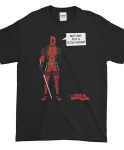 Deadpool Flesh Wound TShirt
