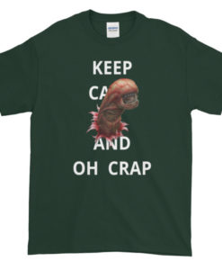 Alien Chest Buster Oh Crap TShirt