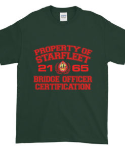 Starfleet Bridge Officer TShirt