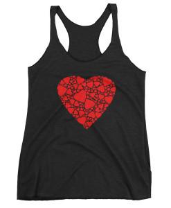Heartful Heart Racerback Tank